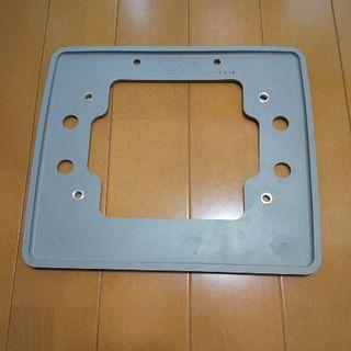 ホンダ(ホンダ)のホンダアクセス 9インチリアモニター用スペーサー 08B20-E40-C3050(カーナビ/カーテレビ)