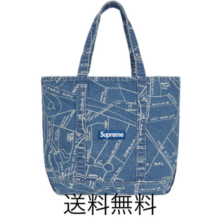 supreme gonz map トートバッグ