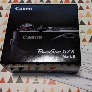 Canon - 「新品」 Canon デジタルカメラ PowerShot g7x Mark2