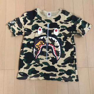 アベイシングエイプ(A BATHING APE)のBAPE kids 140 Tシャツ シャーク マイロ(Tシャツ/カットソー)