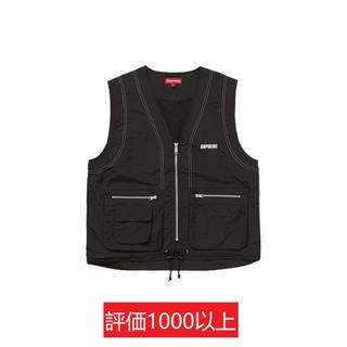 シュプリーム(Supreme)のSupreme Nylon Cargo Vest 黒XL(ベスト)