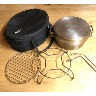シンフジパートナー(新富士バーナー)のH様専用 soto ステンレスダッチオーブンデュアルフルセット(調理器具)