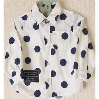 ニシマツヤ(西松屋)のドットシャツ(その他)