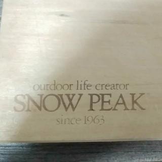 Snow Peak - 激レア希少 スノーピークまな板&ナイフ