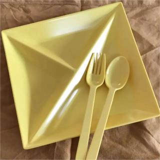 フランフラン(Francfranc)の《フランフラン》リモスメラミンプレート&カラトリー(食器)