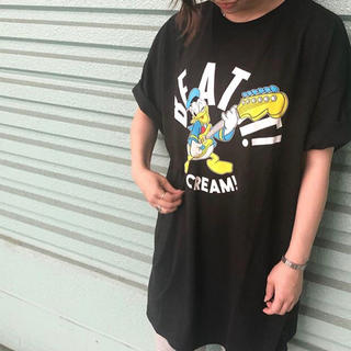RODEO CROWNS WIDE BOWL - Donald ROCK Tシャツ ワンピース