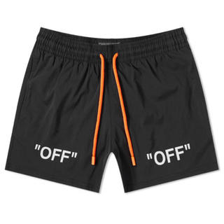 オフホワイト(OFF-WHITE)のoff White BLACK ARROWS SWIMSHORTS(その他)