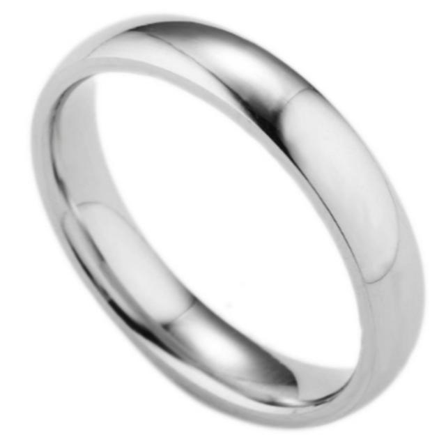 シンプルなファッションリング (シルバー) レディースのアクセサリー(リング(指輪))の商品写真