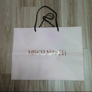 ミッシュマッシュ(MISCH MASCH)のMISCH MASCH ショップ袋 【大】(ショップ袋)