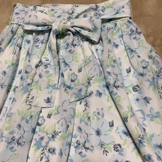 ナノユニバース(nano・universe)の花柄スカート ナノユニバース新品(ロングスカート)