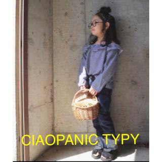 CIAOPANIC TYPY - CIAOPANIC TYPY ギンガム ブラウス