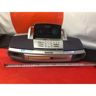 パナソニック(Panasonic)のパナソニック MDラジカセ RX-MDX7中古品(ポータブルプレーヤー)