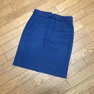 トゥモローランド(TOMORROWLAND)のお値下げ デニムスカート☆タイト(ミニスカート)