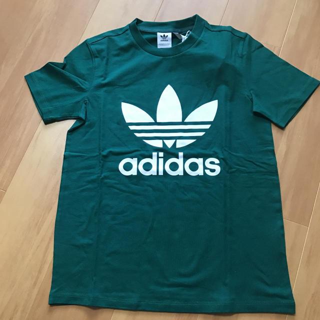 adidas(アディダス)のadidas originals Tシャツ グリーン レディースのトップス(Tシャツ(半袖/袖なし))の商品写真