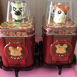 ショウガクカン(小学館)のとっとこハム太郎トロッコ缶  収納箱(キャラクターグッズ)