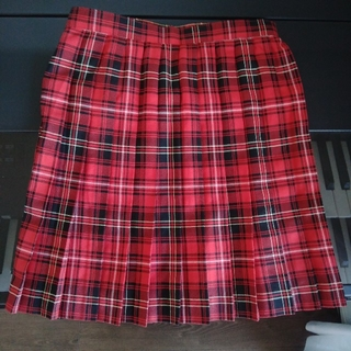 cecile - 制服 スカート チェック プリーツスカート W64 スクール