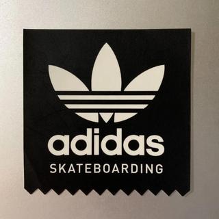 アディダス(adidas)のアディダス スケートボーディング ステッカー/TNF ステッカー 白(スケートボード)