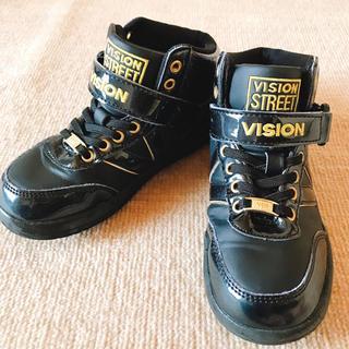 ヴィジョン ストリート ウェア(VISION STREET WEAR)のVISION ダンス シューズ 靴 スニーカー 黒 20(スニーカー)