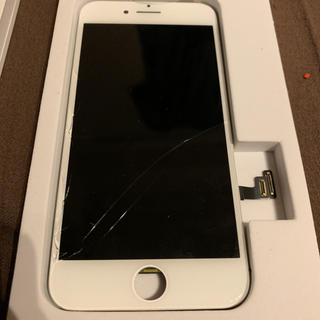 Apple -  iPhone7 純正品 割れパネル