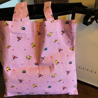 グッチ(Gucci)のグッチ ミケーレ エコ トートバッグ 新品 グッチガーデンギフト即日送料無料(トートバッグ)