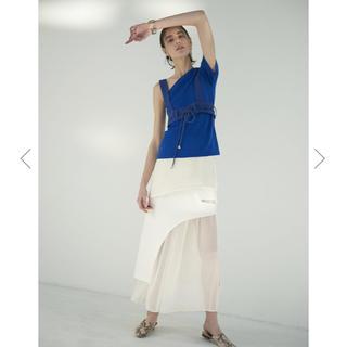 アメリヴィンテージ(Ameri VINTAGE)の新品【ameri vintage】MEDI ENROULER ROPE TOP(Tシャツ(半袖/袖なし))