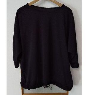 しまむら - HK WORKS 5分袖黒Tシャツ