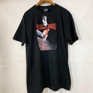 スラッシャー(THRASHER)のTHRASHER スラッシャー  Tシャツ 黒 L 未使用(Tシャツ/カットソー(半袖/袖なし))