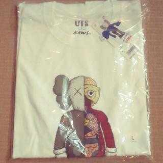 ユニクロ(UNIQLO)のユニクロ×カウズコラボ L(Tシャツ/カットソー(半袖/袖なし))