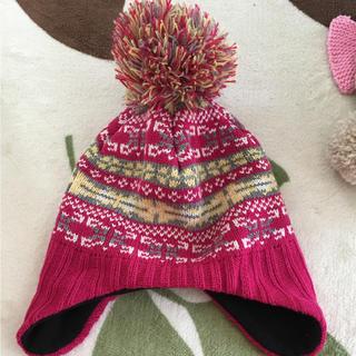 ジーユー(GU)のキッズニット帽(帽子)