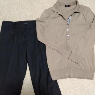 イネド(INED)のINED トップスとパンツの2点セット(Tシャツ(長袖/七分))