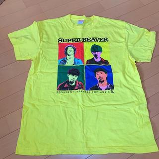 SUPER BEAVER ののバンドTシャツ(Tシャツ/カットソー(半袖/袖なし))