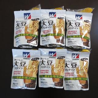 モリナガセイカ(森永製菓)のUSAピョン様専用 おいしい大豆プロテイン 360g×6袋(プロテイン)