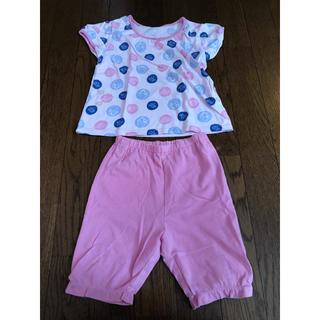 ユニクロ(UNIQLO)のUNIQLO パジャマ ピンク ニモ ドリー ディズニー 80cm(パジャマ)