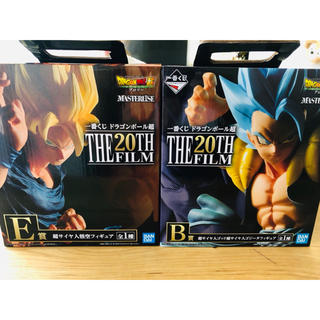 バンダイ(BANDAI)の値下げ!一番くじ ドラゴンボール超  THE 20TH FILM  B賞 E賞 (フィギュア)