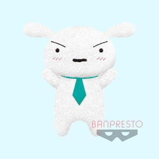 バンプレスト(BANPRESTO)のクレヨンしんちゃん めちゃでかまねっこシロぬいぐるみ~ひろしのネクタイ~(ぬいぐるみ)