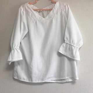シマムラ(しまむら)の刺繍ブラウス(シャツ/ブラウス(長袖/七分))