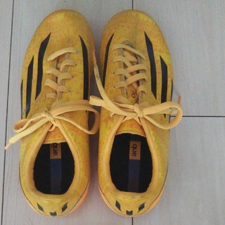 アディダス(adidas)のアディダス  サッカー  スパイク  22センチ(シューズ)