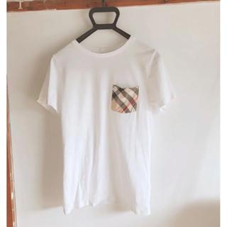 バーバリー(BURBERRY)のBURBERRY Tシャツ 白(Tシャツ(半袖/袖なし))