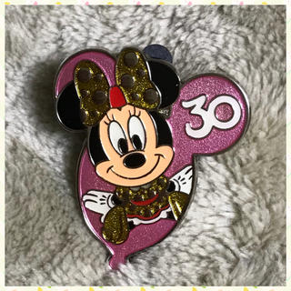 ミニーマウス - 非売品 Tokyo Disney Resort 30周年 ミニー ピンバッジ