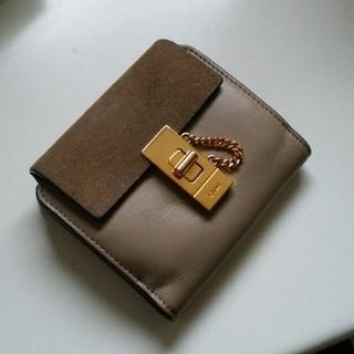 Chloe - 正規品 レア クロエ ドリュー スエード ベロア 財布