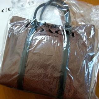 コーチ(COACH)の正規品保証 百貨店商品 コーチ レザートートバッグ 新品、値札付き(トートバッグ)