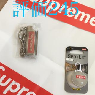 シュプリーム(Supreme)の【セット販売】Supreme ライターネックレス & スポットライトキーホルダー(キーホルダー)