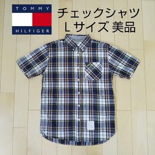 TOMMY HILFIGER - TOMMY チェックシャツ メンズLサイズ