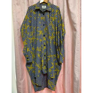 ヴィヴィアンウエストウッド(Vivienne Westwood)の★ヴィヴィアン★アングロマニア マン★変形ビッグシャツ★38★(シャツ)