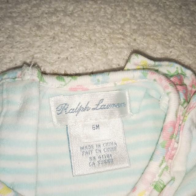 Ralph Lauren(ラルフローレン)のRALPH LAUREN 夏物 ロンパース 6M キッズ/ベビー/マタニティのベビー服(~85cm)(ロンパース)の商品写真