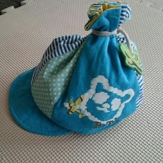 ビッツ(Bit'z)のbits 帽子 46㎝ 男の子 キャップ(帽子)