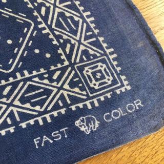 ラルフローレン(Ralph Lauren)の1950sVINTAGEビンテージバンダナFASTCOLORファストカラー下鼻像(Tシャツ/カットソー(半袖/袖なし))
