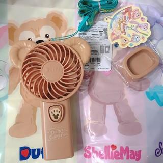 Disney - ダッフィーのサニーファン ファン 小型扇風機