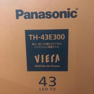 パナソニック(Panasonic)のPanasonic TH-43E300 2018年製 美品(テレビ)