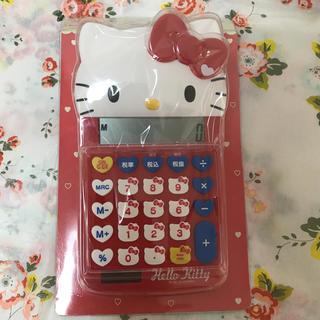 サンリオ - HELLO Kitty・ダイカット電卓  ☆ 新品・未使用 ☆